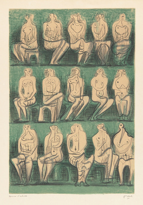 Moore Henry, Seated Figures