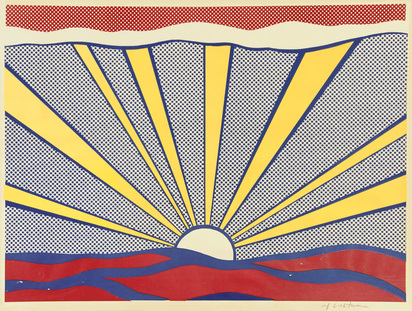 Lichtenstein Roy, Sunrise