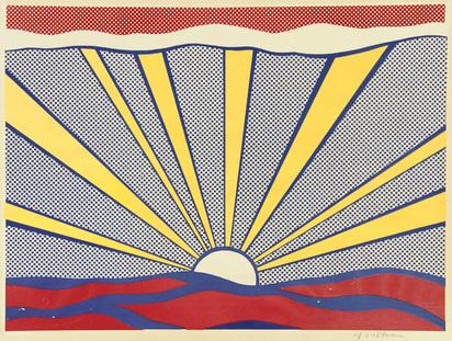 Lichtenstein Roy, Sunrise