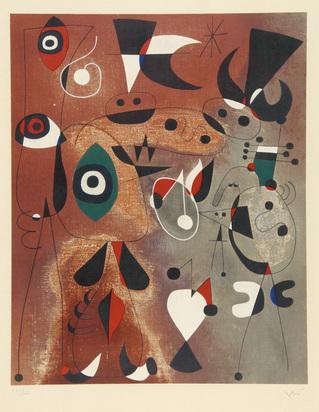 Miró Joan, after. Femmes oiseaux étoile