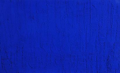 Klein Yves, Monochrome bleu sans titre