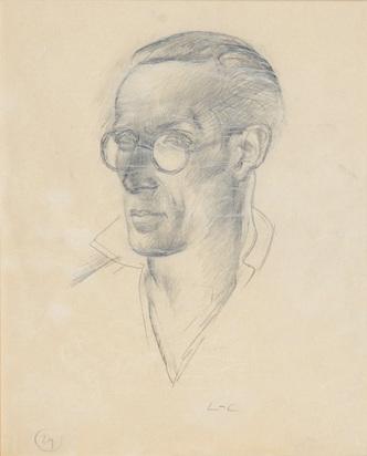 Corbusier Le, Portrait de Pierre Jeanneret, petit cousin de Le Corbusier