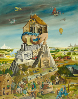 Spiro Georges, Hommage à Hieronymus Bosch