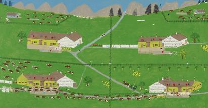 Frischknecht Fritz, Vier Bauernhöfe