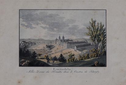 Zähndler Johann Georg, Gestüt Kloster Einsiedeln