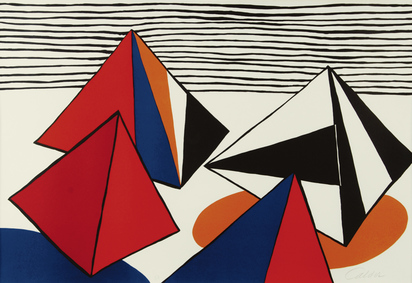 Calder Alexander, Pyramides