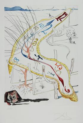 Dalí Salvador, Portfolio. La Conquête du cosmos I