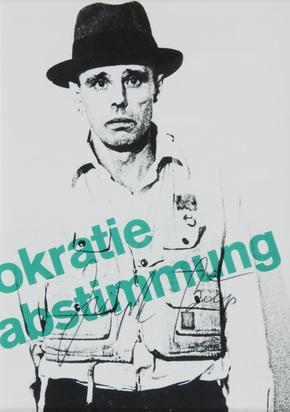Beuys Joseph, Organisation für Direkte Demokratie durch Volksabstimmung