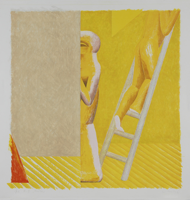 Antes Horst, Figure on Ladder