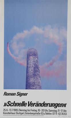 Ausstellungsplakate, 16 posters: J. Dine; N. Vital; A. Rainer; J. Tinguely (3); R. Signer (3); etc..