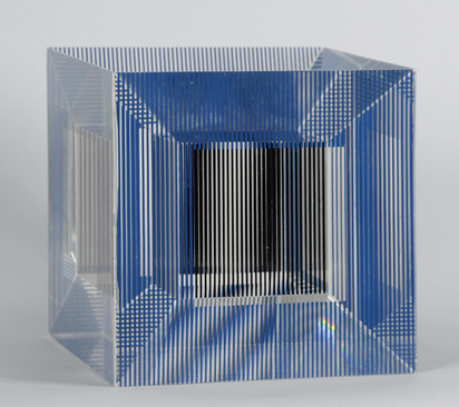 Soto Jesús Rafael, Cube with Ambiguous Space