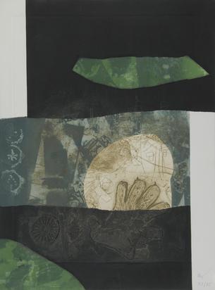 Clavé Antoni, 2 sheets: Gant au Colin-Maillard, 1970; En noir et vert