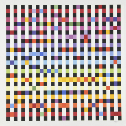 Agam Yaacov, 4 sheets: Composition