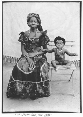 Keïta Seydou, Mutter und Sohn
