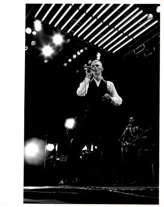 Davies Chalkie, David Bowie