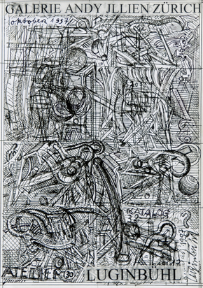 Luginbühl Bernhard, Draft for the exhibition catalogue Galerie Andy Jllien, Zurich