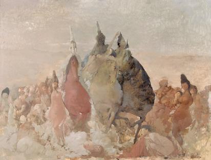 Bachmann Otto, Die drei magischen Reiter