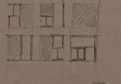 Licini James, 4 sketsches: Stahlbau