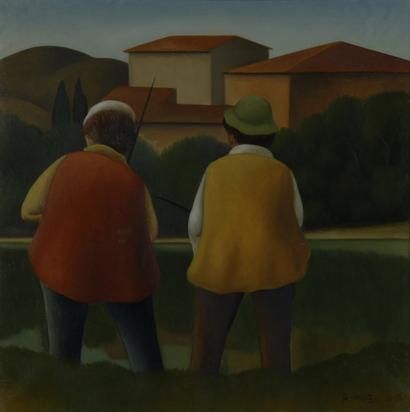 Masi Roberto, Zwei Angler