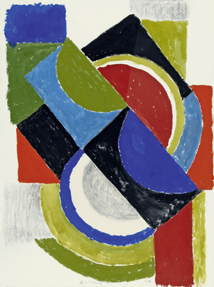 Delaunay Sonia, Rythme couleur
