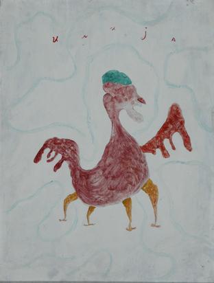 Bosilj Ilija, Fabeltier - roter Vogel