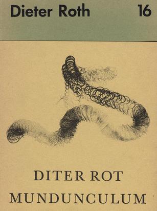 Roth Dieter, Book. Dieter Roth. Diter Rot. Mundunculum. Volume 1: Das rot'sche Videum