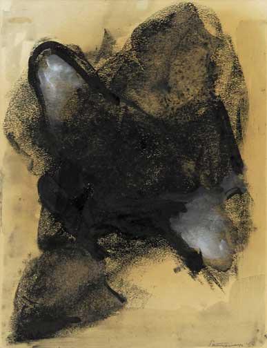 Santomaso Giuseppe, Senza titolo, 1960
