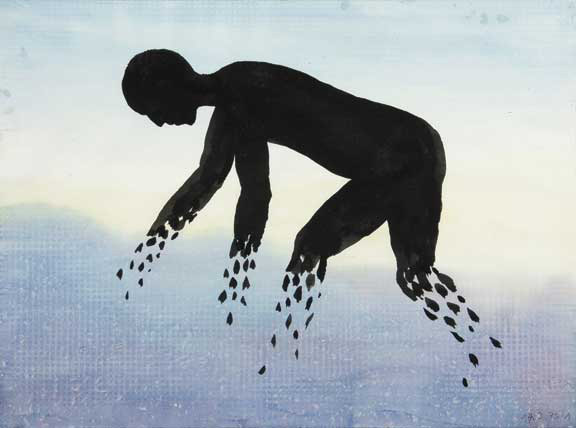 Raetz Markus, Diese Zeichnung hat weder Hand noch Fuss, 1979