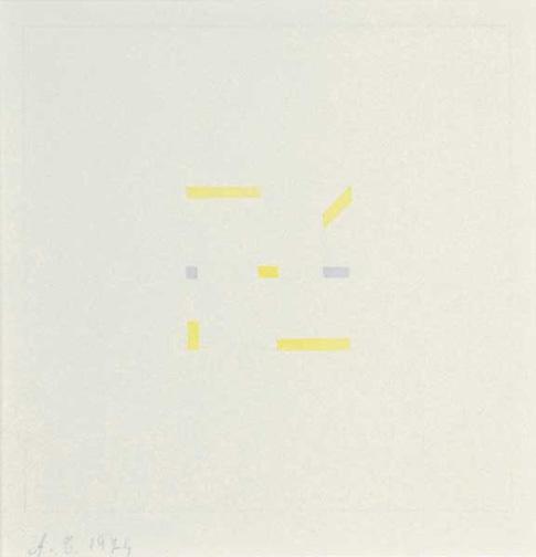 Calderara Antonio, Untitled, 1974