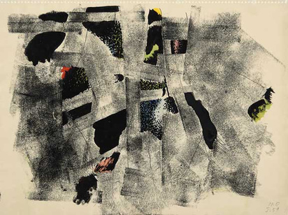 Oppenheim Meret, Composition, 1959