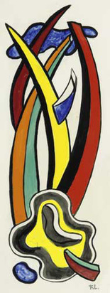 Léger Fernand, Project composition N° G 325, bis murale