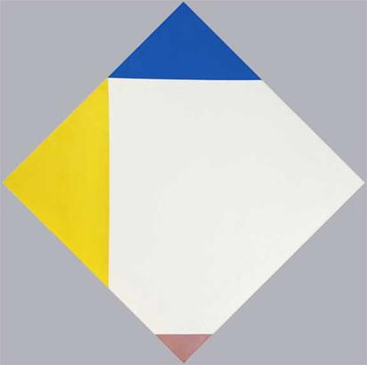 Bill Max, Verwanderte Ecken des weissen Quadrates, 1962-69