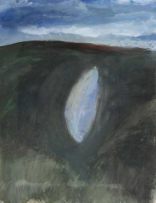Disler Martin, Licht am Himmel, 1974