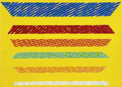 Dorazio Piero, Arcanciel II, 2000