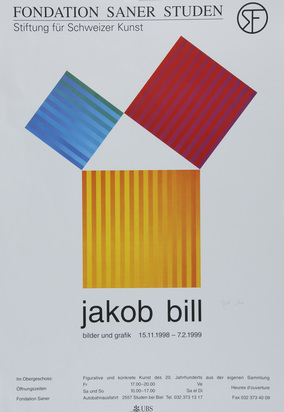 Ausstellungsplakate, 20 posters: W. Luginbühl; R. Signer; Christo; W. Marden; Not Vital; J. Bill; J. Kounellis; F. Gertsch etc.