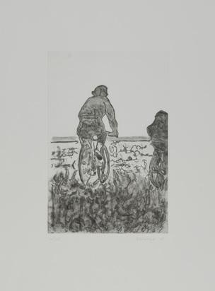 Artschwager Richard, Fahrradfahrer