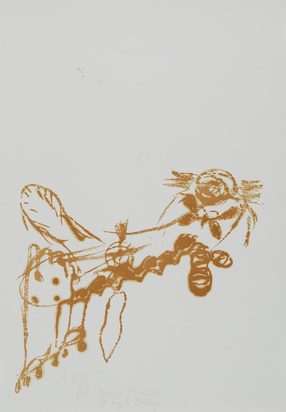 "Beuys Joseph, Untitled (Bienenkönigin), from ""Spur I"""