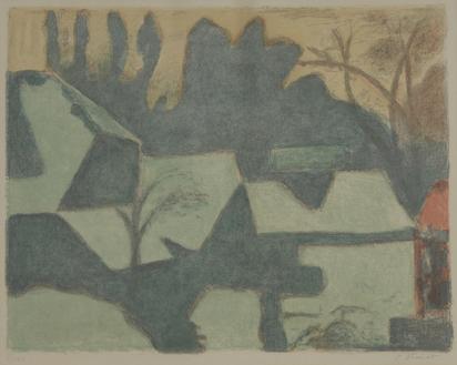 Amiet Cuno, Landscape