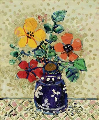 Aizpiri Paul, Vase de fleurs