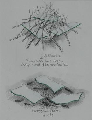 Suter Hugo, Drawing