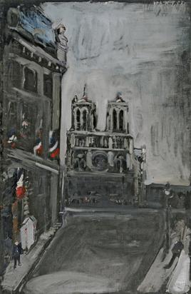 Varlin, Notre-Dame in Paris
