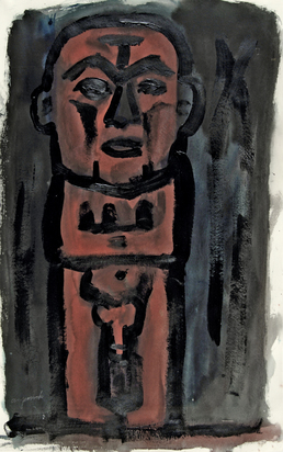 Penck A.R., Untitled (Männerakt)