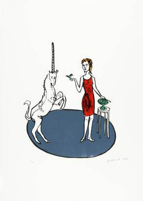 Balkenhol Stephan, Portfolio. The Lady and the Unicorn
