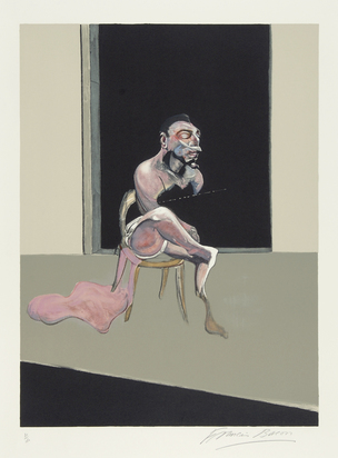 "Bacon Francis, Sheet 1, from ""Triptych August 1972"""
