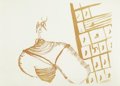 """Beuys Joseph, O.T. (aus dem Leben der Bienen), aus """"Spur I"""""""