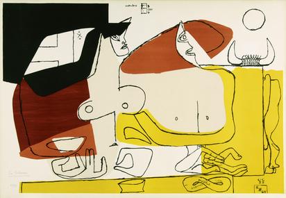 Corbusier Le, Femme rose