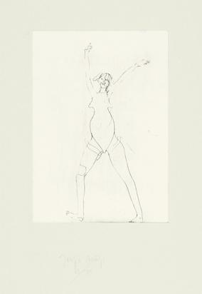 """Beuys Joseph, Mädchen, from """"Suite Zirkulationszeit"""""""