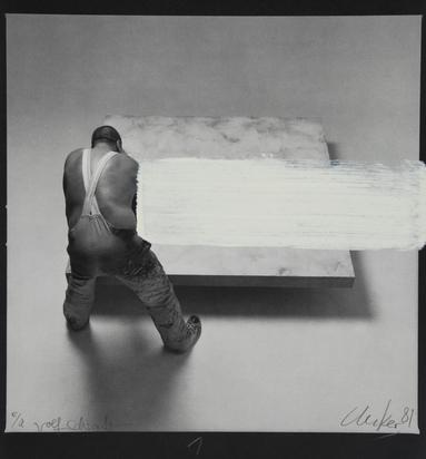Uecker Günther, Folder. Entwicklung eines Werkes - Fotoumwandlungen