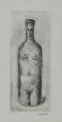 Magritte René, La belle captive