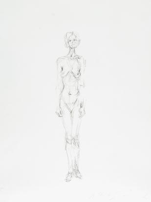 Giacometti Alberto, Nu debout II